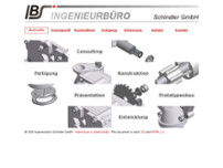 IBS Ingenieurbüro Schindler GmbH website screenshot