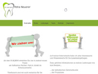 Werner Nominacher website screenshot