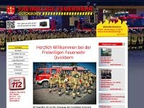 Feuerwache website screenshot