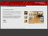 Steinbach Kunsthandlung website screenshot