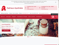 Rathaus-Apotheke website screenshot