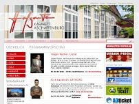 Hofgarten website screenshot