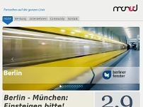 Berliner Fenster GmbH website screenshot