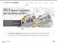 Die Lokale Zeitung website screenshot