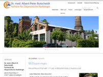 Albert-Peter Rutscheidt website screenshot