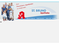 St. Bruno Apotheke Düsseldorf website screenshot