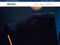 He-GAS GmbH website screenshot