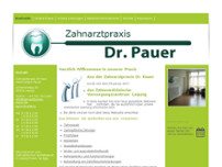 Dr.med. Heinz-Jürgen Pauer website screenshot