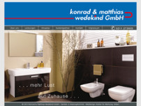 k&m Wedekind GmbH website screenshot