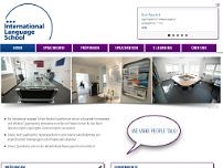 International Language School Frankfurt GmbH website screenshot