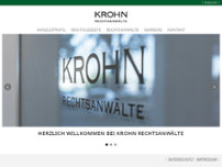 Christian Krohn website screenshot