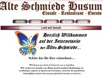 Alte Schmiede website screenshot