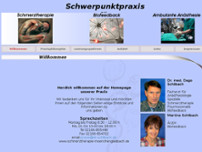 Dr. D. Schilbach website screenshot