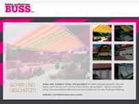 Buss GmbH website screenshot