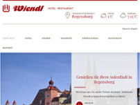 Wiendl Restaurant website screenshot