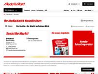 Mediamarkt Unterhaltungselektronik In Neunkirchen Kirkeler Str 50