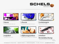 Thomas Schels website screenshot