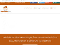 Heinleinbau website screenshot