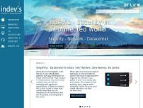 indevis IT- Consulting and Solutions GmbH website screenshot