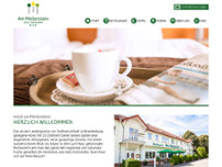 Am Meilenstein, Hotel & Restaurant website screenshot