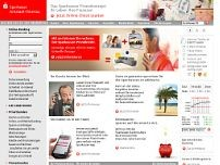 Sparkasse Arnstadt-Ilmenau website screenshot