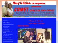 Comet Gastspiele Laborenz GmbH website screenshot