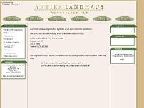 Antika Landhaus GmbH website screenshot