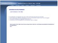 Ute Steinbach website screenshot