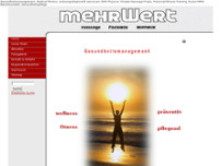 Stempel Sebastian Personal Fitness Training und Massagepraxis mobil website screenshot