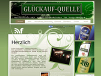 Glückauf-Quelle website screenshot