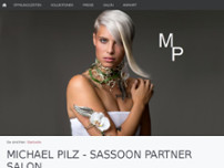 Michael Pilz SASSOON PROFESSIONAL PARTNER website screenshot