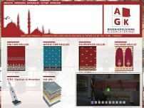 AGK Carpet Deutschland Ltd. website screenshot