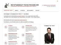 Tschu-Tschon Kim website screenshot