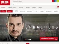 REWE Foodservice GmbH website screenshot