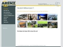 Fliegenschutz ARENZ website screenshot