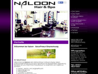 Naloon Hairstyle website screenshot