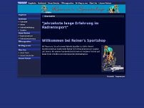 Reinhard Levangè Reiners Sportshop Inh. website screenshot