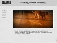 Protassov Parkettbetrieb website screenshot
