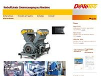 DeVeTec GmbH website screenshot
