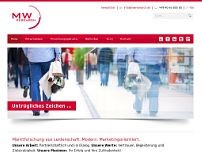 MW Research GmbH website screenshot