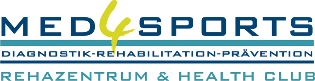 MED4SPORTS Rehazentrum & Health Club Logo
