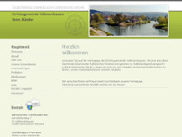 Martin-Luther-Gemeinde (SELK) website screenshot