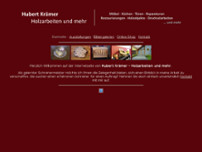 Hubert Krämer website screenshot