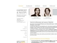 Gippert & Klein website screenshot