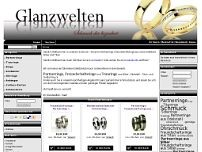 Glanzwelten website screenshot