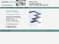 stolte datentechnik website screenshot