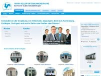 Hahn+Keller Immobilien GmbH website screenshot