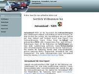 Auto Ankauf Export website screenshot