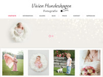 Vivien Hundeshagen website screenshot