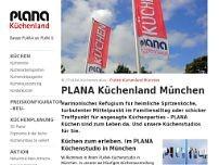 PLANA Küchenland München Küche in München Moosach Hanauer ...